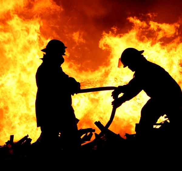 Пожар в магазине